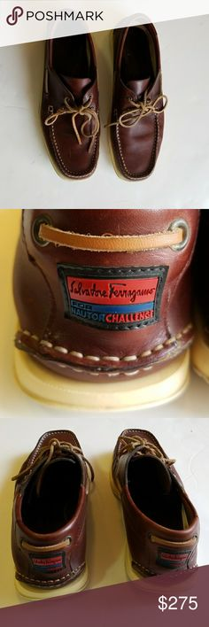 Salvatore Farragamo for nautor challenge as 9.5 Excellent condition Salvatore Ferragamo Shoes