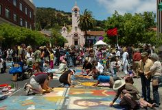 Italian street painting will return to San Rafael, donations needed for event - Marin Independent Journal