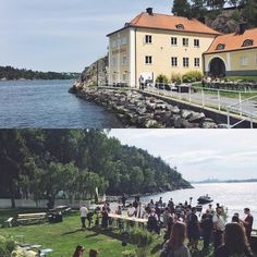 Team offsite at Ekensdal in the Stockholm archipelago. Stockholm Archipelago, Wedding Venues, Wedding Inspiration, Mansions, House Styles, Instagram Posts, Pictures, Wedding Places, Mansion Houses