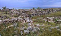 На раскопках древнего городища Беляус. 22 июня 2014 г.