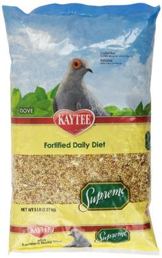 Kaytee Supreme Bird Food for Doves 5lb bag >>> You can get additional details at the image link.