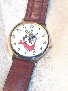 Vintage Watch Tony the Tiger Adult or Child by NorthCoastCottage, $39.00와와카지노 카지노강원랜드.COM 와와카지노