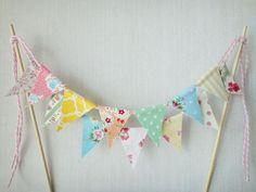 Cake Topper, Washi Tape, Banderines… para la decoración de una fiesta