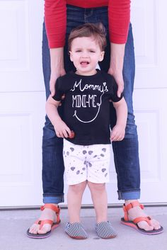 Image of Mommy's Mini-Me tees and onesies