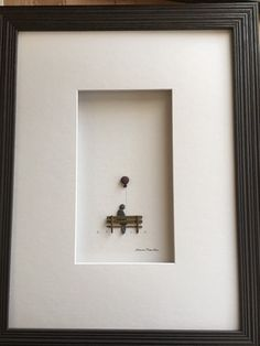 12 by 16 framed art by sharon nowlan made with by PebbleArt