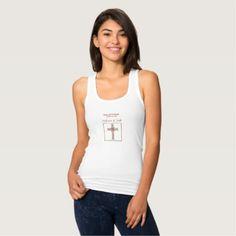 Women's Slim Fit Racerback Tank Top  $24.30  by Religious_SandraRose  - custom gift idea