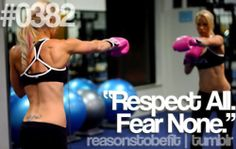 new motto/ reasons to be fit <3