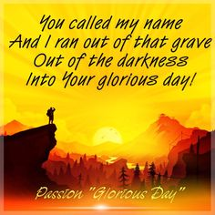 passion glorious day jennifer ordemann christian song lyrics