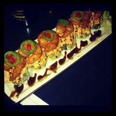 Benihana new sushi  roll ! yumm - @Tory Dittman- #webstagram