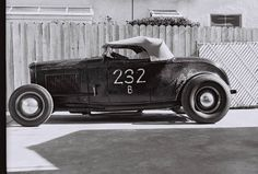 traditional hot rod.