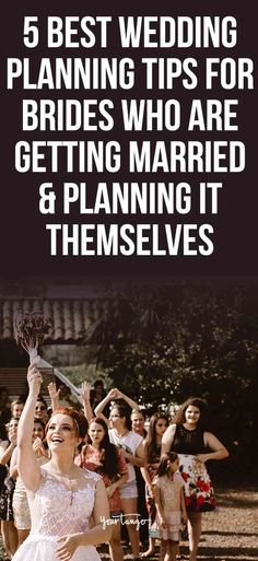Getting married? While some brides use wedding planners, if you're doing it yourself, use this wedding planning checklist to ensure everything is set for your big day! #wedding #weddingplanning #marriage #married