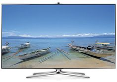 """The Samsung UN55F7500 is a 55"""" 1080p 3D LED HDTV with Wi-Fi® and voice/gesture control amongst other winning features. Read the full Samsung UN55F7500 review. #samsung #samsunghdtv #hdtv #SamsungUN55F7500 #UN55F7500"""