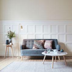 wnętrze, sofa, stolik
