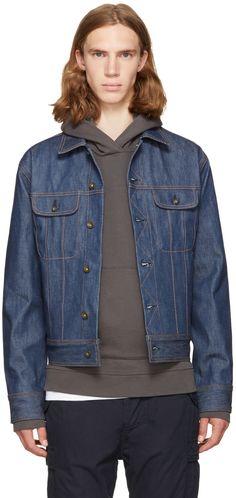 RAG & BONE Indigo Denim Jacket. #ragbone #cloth #jacket