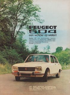 Peugeot 504, 3008 Peugeot, Car Advertising, Commercial Vehicle, Retro Cars, Car Manufacturers, Old Trucks, Vintage Ads, Art Cars
