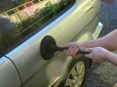 When you've got a small-to-medium-sized dent in your car, you don't have to pay a ton to get it removed. All you need is a plunger, says redditor Tdaug: