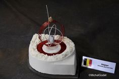 Belgium's Frozen dessert from the 2009 Pastry World Cup.
