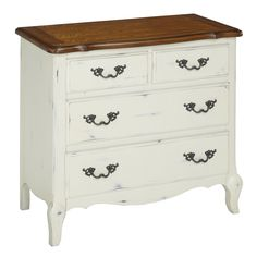 """WAYFAIR - French Countryside 4 Drawer Chest - 36""""W x 18.5""""D x 32""""H - $336.99"""
