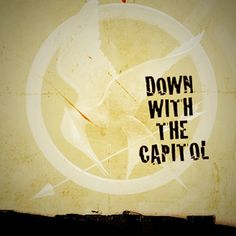 The Hungey Games - Down with the Capitol  #hungergames #downwiththecapitol #mockingjay
