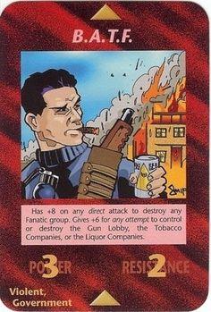 Illuminati Card Game - B.A.T.F.