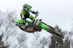 Maxxis sponsored Team Green Youth Dylan Woodcock