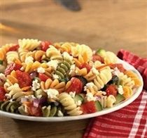 Free Weight Watchers Recipes, Weight Watchers Italian Pasta Salad Recipe Adapted For The Weight Watchers Diet Plan. Healthy Italian Pasta Salad Recipe And Only 3 SmartPoints Per Serving. Points Plus Recipes, Ww Recipes, Italian Recipes, Cooking Recipes, Healthy Recipes, Skinny Recipes, Recipies, Healthy Meals, Advocare Recipes