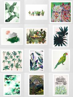Society6 Green Art Prints - Society6 is home to hundreds of thousands of artists from around the globe, uploading and selling their original works as 30+ premium consumer goods from Art Prints to Throw Blankets. They create, we produce and fulfill, and every purchase pays an artist.