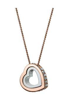 Annie RAM Kette, Anhänger Double Heart, Swarovski® crystals gold Jetzt bestellen unter: https://mode.ladendirekt.de/damen/schmuck/halsketten/goldketten/?uid=94749d89-81af-5f72-ba97-bef1961f2985&utm_source=pinterest&utm_medium=pin&utm_campaign=boards #goldketten #schmuck #halsketten #bekleidung Bild Quelle: brands4friends.de