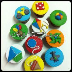 Cupcake brinquedos !!