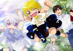 Zatch Bell art with Kiyomaro and Zeon and Deux