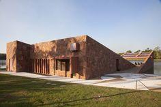 Image 1 of 10 from gallery of Pavilion Hacienda Matao / LEGORRETA + LEGORRETA. Photograph by Cristiano Mascaro
