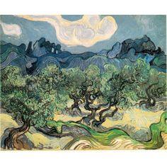Van Gogh - Oliviers Dan Les Alpilles