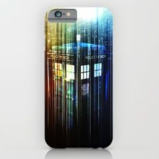 The Light Tardis Slim Case iPhone 6s