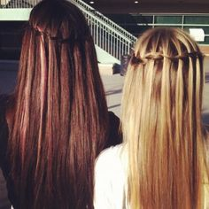 frends waterfall hair