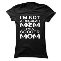 iM NOT A REGULAR MOM, I'M A SOCCER MOM T Shirts, Hoodies. Get it here ==► https://www.sunfrog.com/Sports/i-Black-17708949-Ladies.html?57074 $20.99