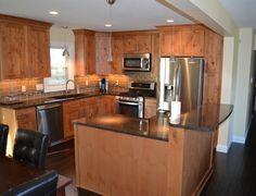 potential kitchen update--split level