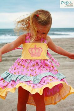 Fit for a Queen party twirl dressMomi boutique by momiboutique