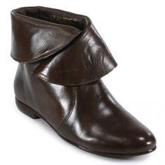 Ankle boot rasteira café MTI15770240