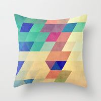 Throw Pillows featuring dyrzy by Spires