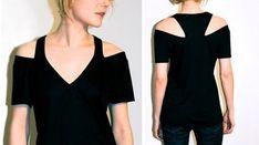 Slots / T-shirts DIY / SECOND STREET #diyshirtscutting