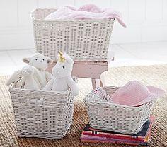 Baby Nursery Storage Baskets, Baby Toy Storage | Pottery Barn Kids