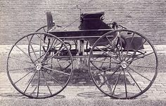 Sylvester Ropers Steam Automobile, 1860s  Sylvester Roper was an early automobile designer in America.  His cars were steam powered, and he made a steam motorcycle which had to be the first motorcycle ever made, and a steam powered buggy, or automobile as they were called later.