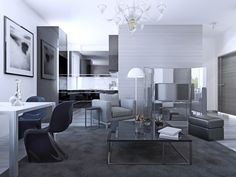 living grey rooms walls gray furniture contemporary interior idea dark couch decorating sofa studio carpet stunning complete sets couches shelves