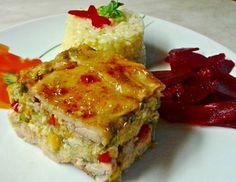 Zöldséges rakott csirkecomb Hungarian Recipes, My Recipes, Lasagna, Ethnic Recipes, Food, Meals, Yemek, Lasagne, Eten