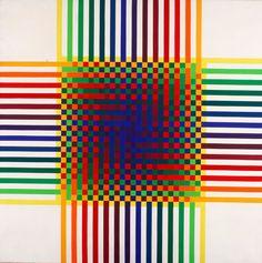 Paintings by Julio Le Parc, 1970-1974.