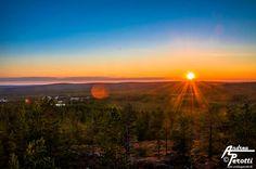 Midnight Sun - Rovaniemi, Finland