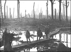 It seems absurd to claim it, but the Battle of Passchendaele was in many ways worse than the Somme. The British offensive, also known as the Third Battle of Ypres, was launched on the Belgium battlefield at a. on 31 July It was a massive effo World War One, First World, Schlacht An Der Somme, Battle Of Passchendaele, Battle Of Ypres, Dramatic Photos, Flanders Field, No Mans Land, Rare Photos