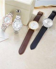 37cde36c6ae Bulova Women Marine Star Diamond-Accent Two-Tone Stainless Steel Bracelet  Watch 34mm