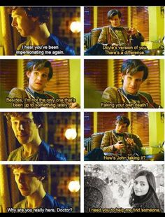 Sherlock/Doctor Who crossover