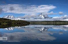 Grand Teton by LibbyZhang. Please Like http://fb.me/go4photos and Follow @go4fotos Thank You. :-)